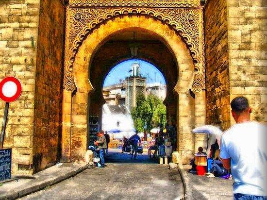 Casablanca, Marruecos: سوق باب مراكش بمدينة الدار البيضاء المغرب