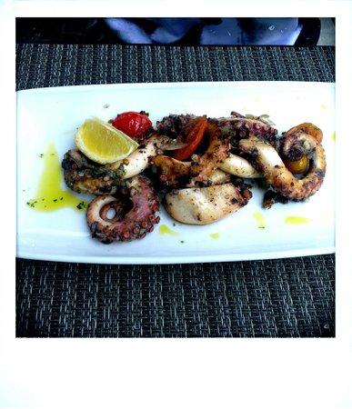Browns Kitchen: Marinated octopus