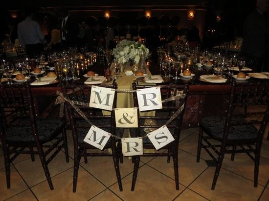 Ruby Hill Winery: Reception in Palm Event Center
