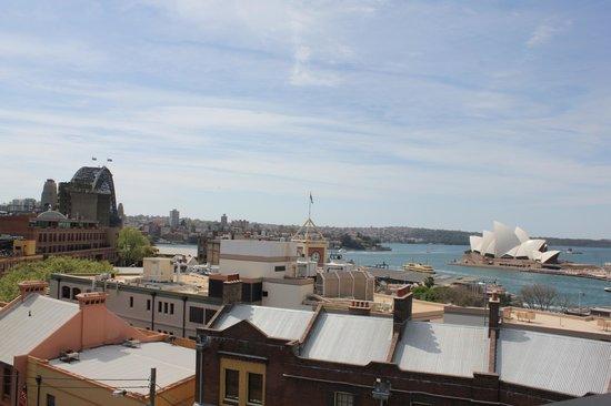 Sydney Harbour YHA: rooftop view