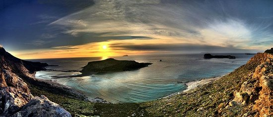 Kissamos, Greece: Balos Sunset