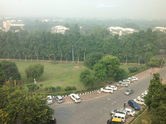 The Ashok : VIEW FROM WINDOW