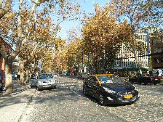 Bairro Providencia - rua do Hotel Neruda