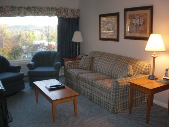 Mountainside Resort At Stowe: Living room