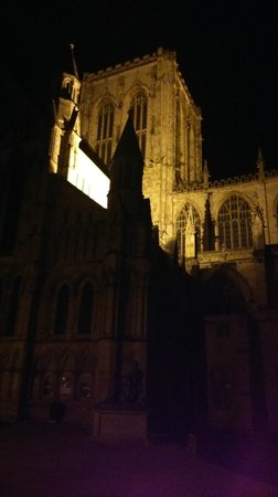 Dean Court Hotel, BW Premier Collection: York Minster at night