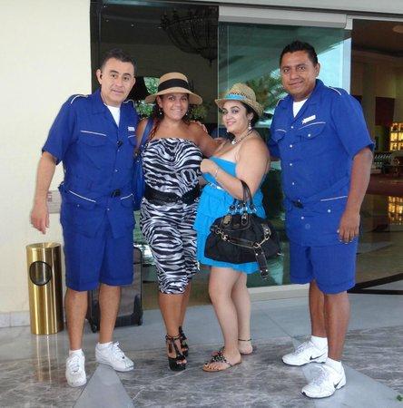 Iberostar Grand Hotel Paraiso : Bell Boys Ricardo and Antonio