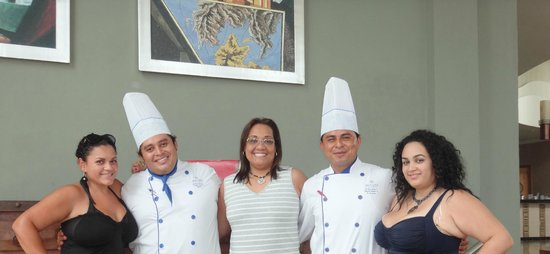 Iberostar Grand Hotel Paraiso : Chefs Omar and Ezequiel