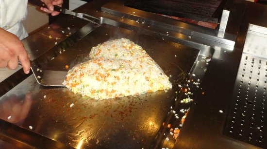Iberostar Grand Hotel Paraiso : Beating Heart Fried Rice