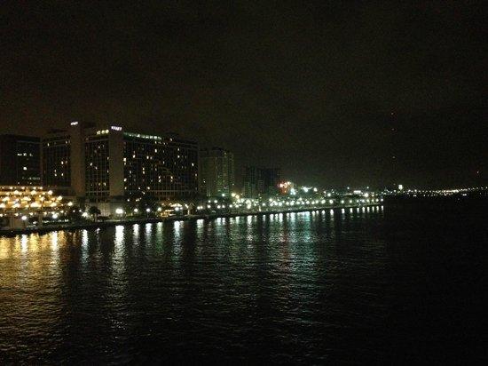 Hyatt Regency Jacksonville Riverfront : Night view