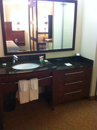 Hyatt Place Sarasota / Bradenton Airport: Bath sink