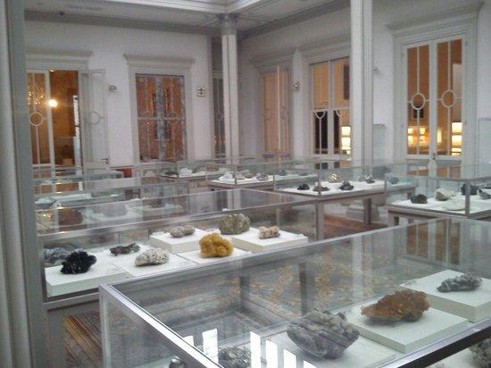 Museo de Minerales Andres del Castillo: Minerales de las diferentes provincias del Perú