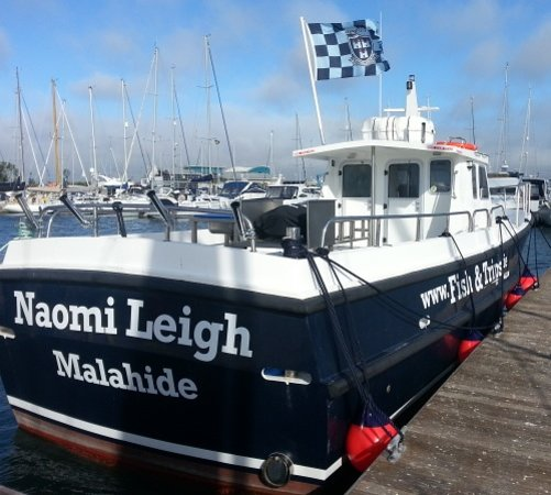 Malahide, Ireland: Our vessel