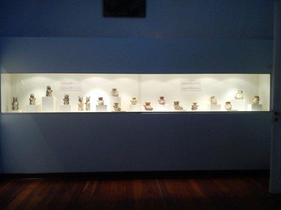 Museo de Minerales Andres del Castillo: Colección de huacos en el Museo Andrés del Castillo :)