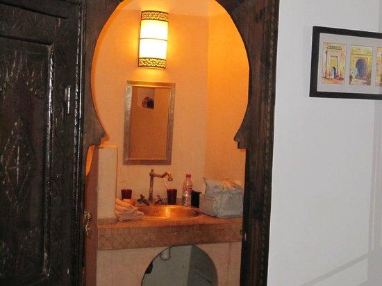 Riad Anya: Salle de bain