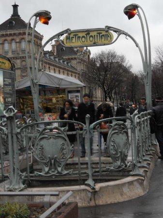Cabourg : metro rome