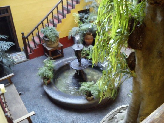 Casa de Aliaga: Pileta de la Casa Aliaga