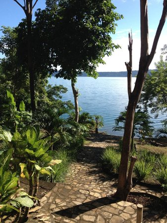 Apoyo Lodge : View of Laguna De Apoyo