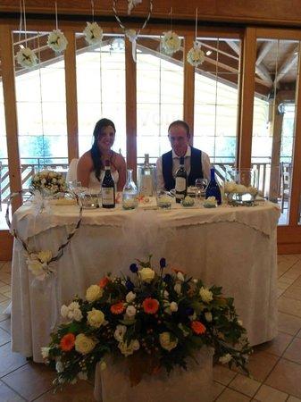 Nuova Giacobba : Il tavolo degli sposi