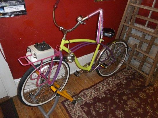Beans in the Belfry: Bike powered blender