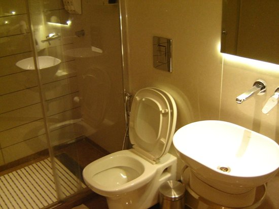 Grand Godwin Hotel: Bathroom (Double room, twin bed)