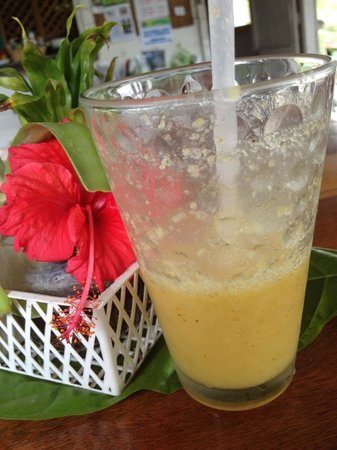 Veronica's Place: Starfruit and Ginger juice