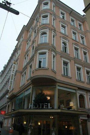 Hotel Beethoven Wien: Здание отеля