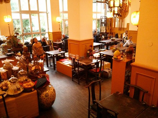 Chen Che Teehaus: The restaurant