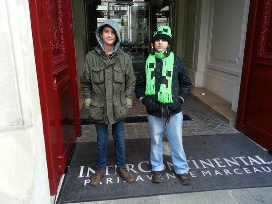 InterContinental Paris-Avenue Marceau: Main Entrance