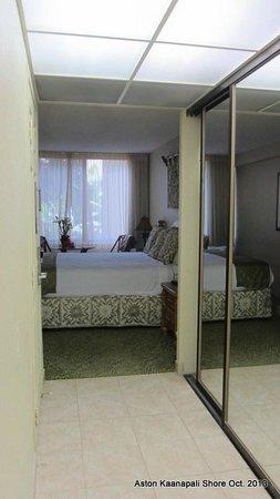 Aston Kaanapali Shores: Entrance to room 337B