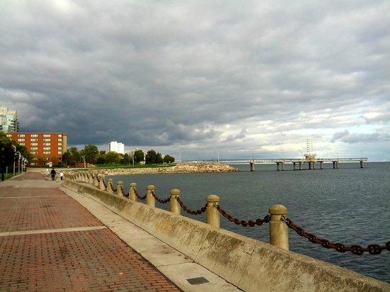 Burlington Waterfront Trail: набережная
