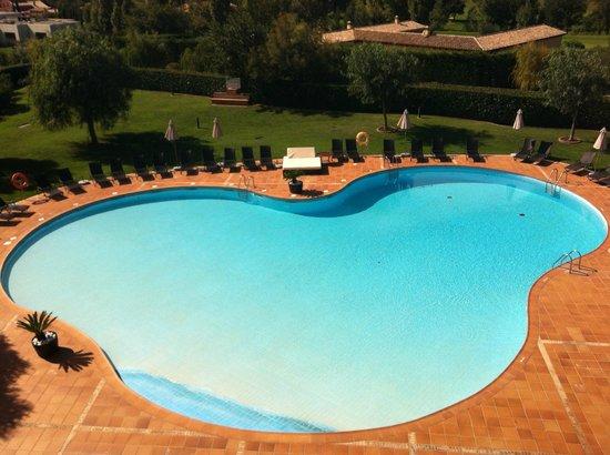 Hotel Peralada Wine Spa & Golf : vue de la chambre