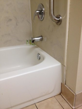 Holiday Inn Express Hotel & Suites New Orleans Airport South : Nasty restroom