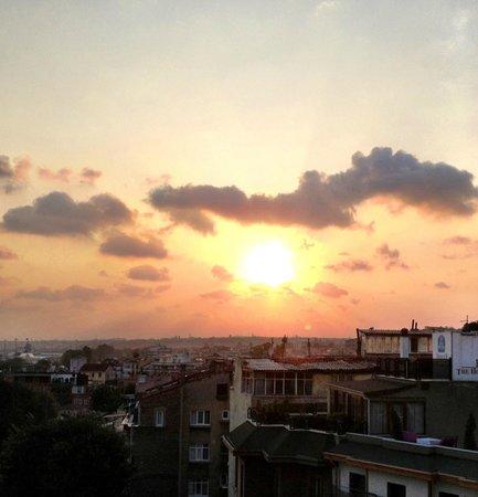 Hotel Amira Istanbul: Roomtop Sunset