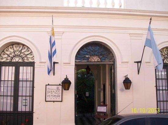 Posada Plaza Mayor : Entrada del Hotel