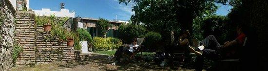 Posada Plaza Mayor : Panorámica del Patio Trasero