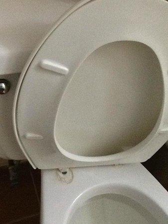 Puerto Plata Village Resort: bolt missing from toilet seat