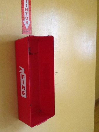 Puerto Plata Village: but where is the fire extinguisher?