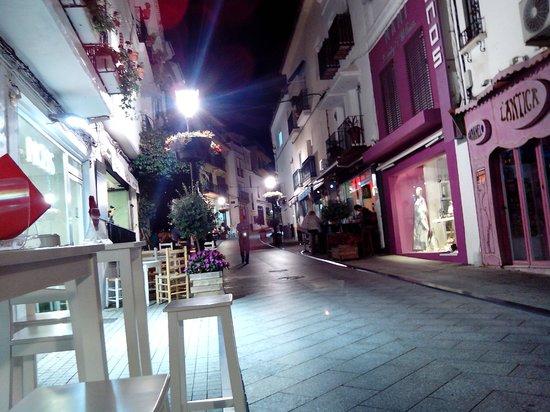 Hostal Paco: Calle del Hostal.