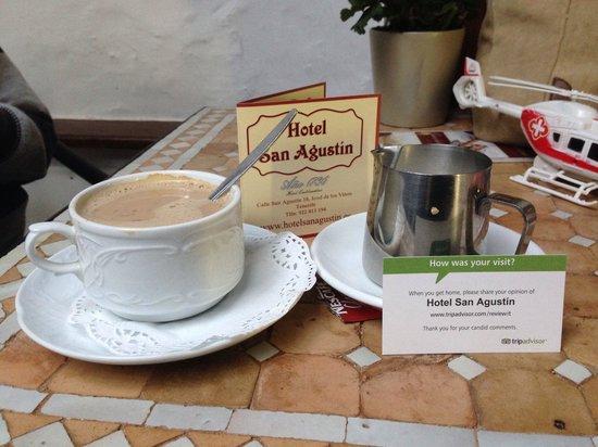 Hotel San Agustin: Café exente
