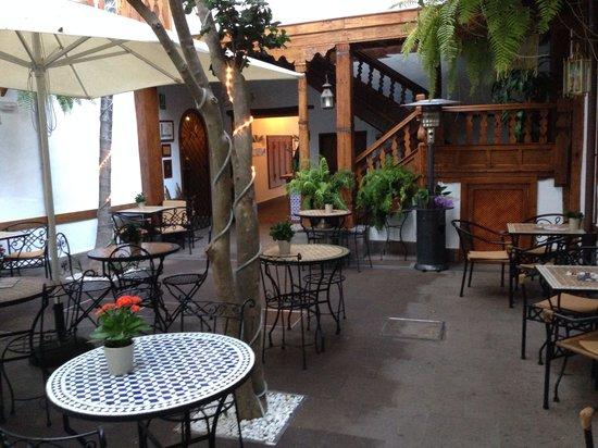 Hotel San Agustin: Terraza