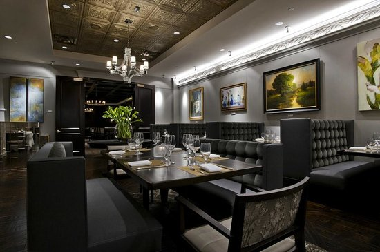 Gallery Restaurant At The Ballantyne Hotel Charlotte
