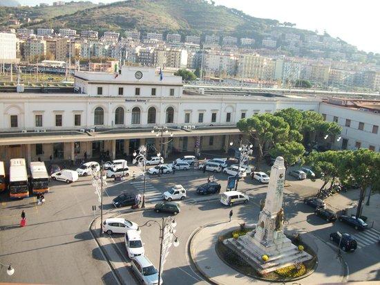 Plaza Hotel: Vista da sacada do último andar