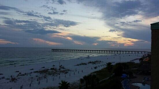Pensacola Beach : Colorful Sunset!!