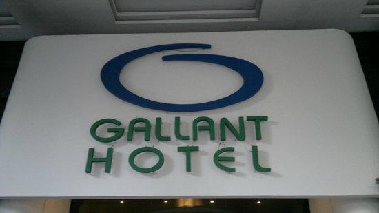 Hotel Gallant : Frente do Hotel