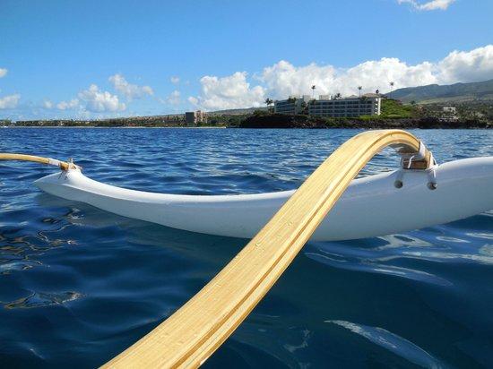 Maui Paddle Sports: view of Black Rock