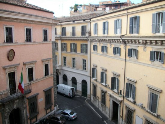 Accademia Hotel: Vista da suíte