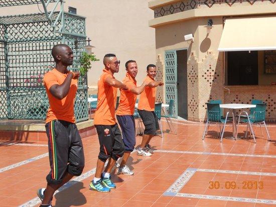 IBEROSTAR Club Palmeraie Marrakech: jeux apéro !