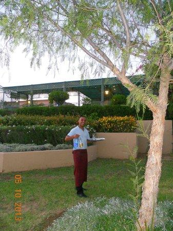 IBEROSTAR Club Palmeraie Marrakech: Mustapha toujours le sourire