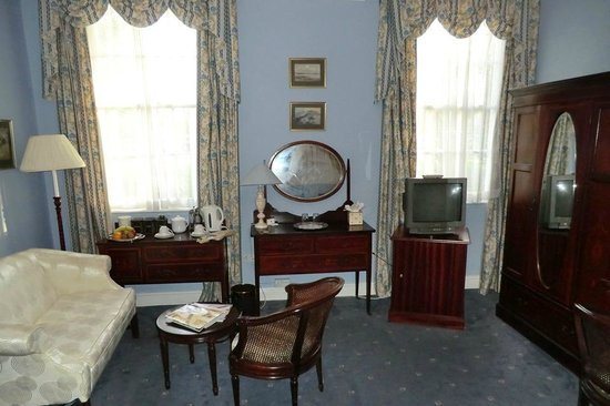 Corse Lawn House Hotel : Our room