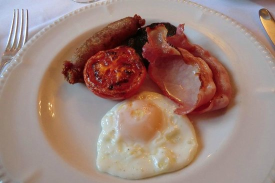Corse Lawn House Hotel: Cooked breakfast